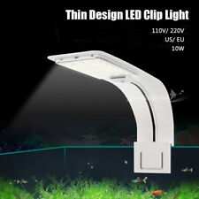 Pet Supply LED Aquarium Clip On Fish Tank Plant Grow Light Lighting 110V US Plug