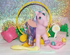 Mein kleines/ My Little Pony G1 Princess Brush 'n Grow *Brilliant Gloom*