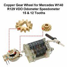 Copper Gear Wheel 15 & 12 Tooths for Mercedes W140 R129 VDO Odometer Speedometer
