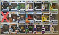 Pop! Vinyl Brand New, Marvel, Disney, Sesame Street, DC Comics,Video Games Funko