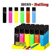 12 encendedores clipper de colores llama de soplete, clipper jet flame 12 und