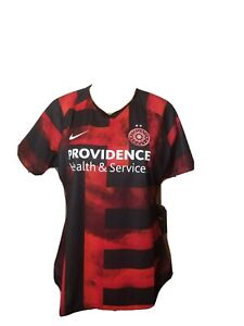 Portland Thorns Nike Jersey Red Black New NWT Womens Size XL Soccer Football