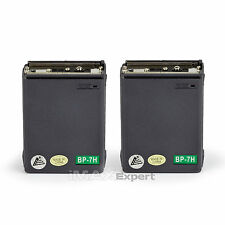 2x 1100mAh 13.2v BP-7 CM-7G Battery for ICOM IC-2AT 2GAT 3AT 4AT 4GAT 12AT 12GAT
