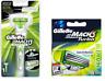 Gillette Mach3 Sensitive Razor Handle + Gillette Mach3 Sensitive Blades, 4 Count