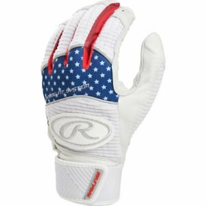 Rawlings Workhorse Batting Gloves Pair WH950BG - USA - M