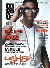 BLUES & SOUL MAGAZINE #931 - BRAND NUBIAN, LEAH MCCRAE, BOYZ II MEN, USHER