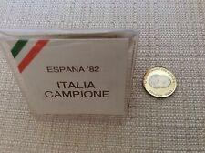 CAMPIONATI MONDIALI CALCIO SPAGNA 1982 MONETA ARGENTO ITALIA CAMPIONE DEL MONDO
