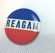 "Ronald REAGAN campaign pin button political 1 3/4"" RED WHITE BLUE Patriotic"