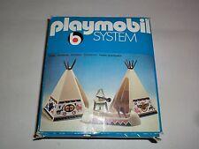 Playmobil Klicky 3252 Indianer Zelte und Kanu 70er Jahre in OVP