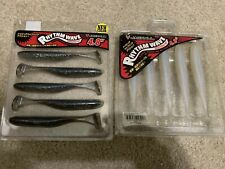 Jackall Soft Lure Rhythm Wave 4.8 Inches Sexy Albino Blue Pearl Shad LOT NEW