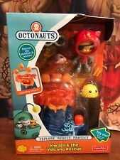 Brand New Fisher-Price Octonauts Kwazii & the Volcano Rescue Playset
