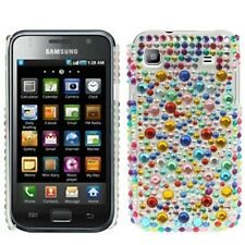 Coque pour samsung galaxy s i9000 i9001 plus sac case protection strass paillettes