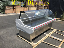Deli Meat Display Seafood Case ish Cabinet Freezer Refrigerated High