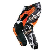 ONeal Element MX Hose SHOCKER Orange Moto Cross Enduro Motorrad Mountainbike MTB