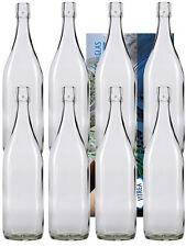 4 Leere Glasflaschen mit Bügelverschluss Bügelflasche 1L 1000 ml Typ A Flasche