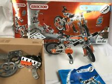 Erector Set 5 Model Bike # 3501 Age 8 & Up