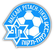 Maccabi Petah FC Israel Soccer Football Car Bumper Sticker Decal 5'' x 5''
