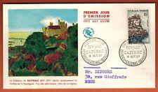 1957 - ENVELOPPE.FDC 1° JOUR - Beynac-Cazenac - OBL.Beynac - Timbre -Yt.1127
