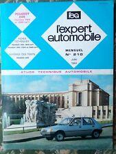 Revue technique L'expert automobile #210 Peugeot 205 essence