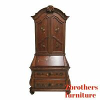 Ethan Allen Tuscany French Louis XV Bombay Secretary Writing Desk