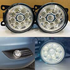 2x Front Bumper Fog Lamps LED DRL lights for Nissan Navara D40 adventura pickup