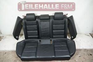Audi A6 C6 4F Avant Rücksitzbank Rücksitze Ledersitze Leder schwarz 4F0885375A
