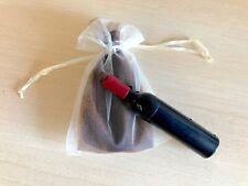 Detalles para Bodas Comuniones Sacacorchos en forma de botella bolsa de regalo