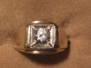 Vintage Mens 14k Yellow gold ring 8 3/4