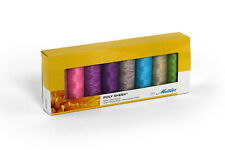 Mettler Poly Sheen 100% Polyester Brights 8 Pack Sewing Thread Embroidery Crafts