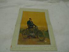 HARLEY-DAVIDSON 1914 ORIGINAL FACTORY COLOR CATALOG