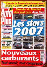 AUTO PLUS du 10/10/2006; Les stars 2007/ Comparatif TDi/ Carte Radars-cabine