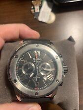 Bulova Men's Watch 98B127 Marine Star Diver Quartz Chronograph Black Rubber Band