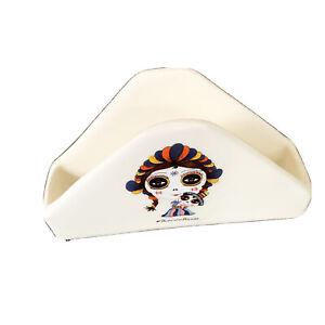 Patricia Fornos Mexican Mexico Artist Napkin Holder Rare