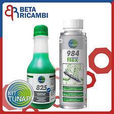 Tunap 984 (ex 983) MicroFlex Additivo pulizia iniettori diesel + Lavavetri 825