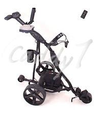 Elektro Golf Trolley CADDYONE 450 black inkl. 33AH-Bleigelakku / Fernbedienung