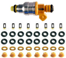 FUEL INJECTOR REPAIR KIT O-RINGS, CAPS, SPACER FILTERS FOR FORD MERC LINC V8