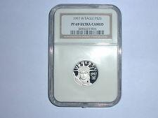 1997-W American Eagle Platinum $25 Dollar Coin NGC PF 69 UC