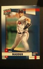 2002 DONRUSS FAN CLUB #154 GREG MADDUX HOF ATLANTA BRAVES PITCHER NM/MT