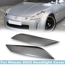 ITEM IN AU Painted #KY0 for Nissan Z33 350Z Fairlady Z Headlight Cover Eyelids