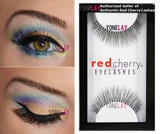 Lot 12 Pairs Authentic Red Cherry #747M Birmingham False Eyelashes Strip Lashes