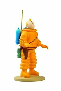 ADVENTURE OF TINTIN RESIN FIGURINE - TINTIN COSMONAUT