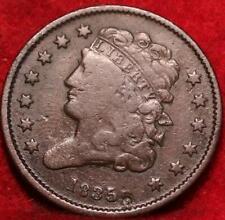 1835 Philadelphia Mint Copper Classic Head Half Cent 13 stars