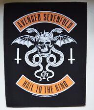 Avenged Sevenfold-Biker-Back Patch - 30 CM x 36,3 cm - 164654