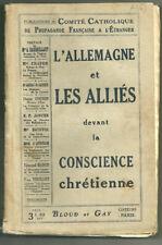 1915. PARIS. LA GERMANIA E GLI ALLEATI