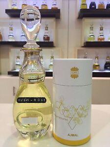 MUSK ROSE Attar by Ajmal 60 ML, 2 fl.oz, 5 Tola, CPO, Alcohol free Misk Al Ward