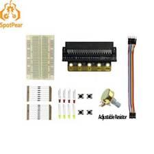 BBC micro:bit GPIO Expansion board (B) kit with Breadboard start your micro:bit