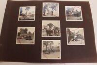 Lot original Fotos WWI 1. Wk Kavallerie Pferde Kutsche Westfront Frankreich
