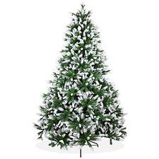 Künstlicher Weihnachtsbaum 240cm Nordmanntanne Spritzguss Tanne angeschneit;PS14
