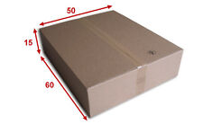 10 boîtes emballages cartons  n° 70B - 600x500x150 mm - simple cannelure