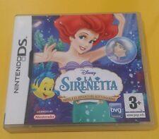 Disney La Sirenetta Ariel e Le Avventure Sottomarine GIOCO NINTENDO DS